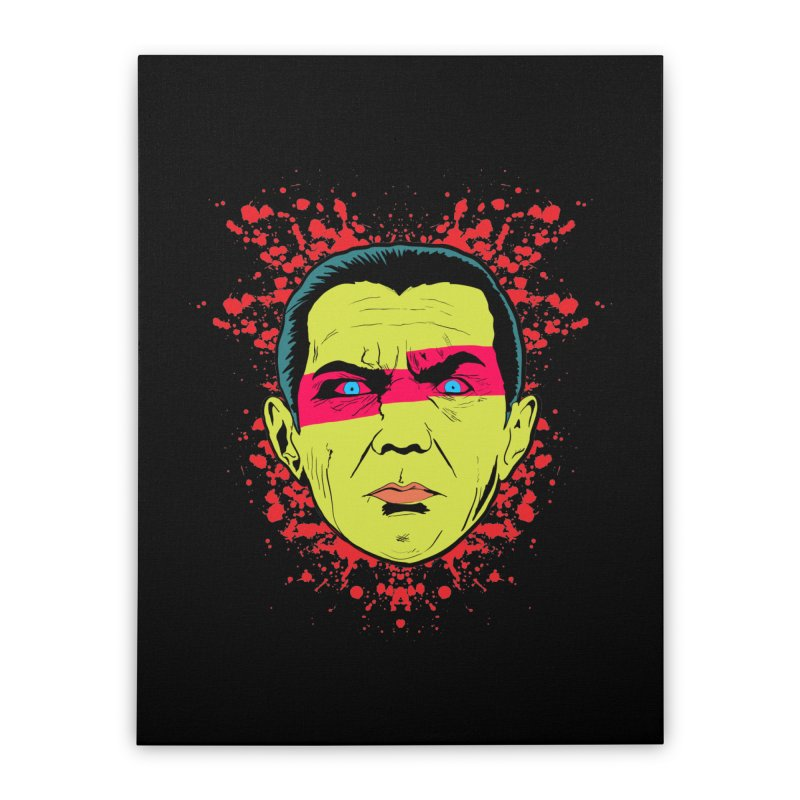 Bela Is Alive Home Stretched Canvas by Cold Lantern Collection
