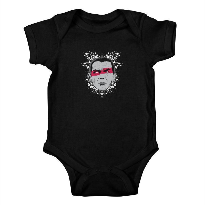 Bela is Red Variant Kids Baby Bodysuit by Cold Lantern Collection