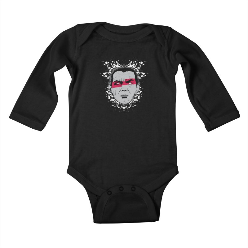 Bela is Red Variant Kids Baby Longsleeve Bodysuit by Cold Lantern Collection