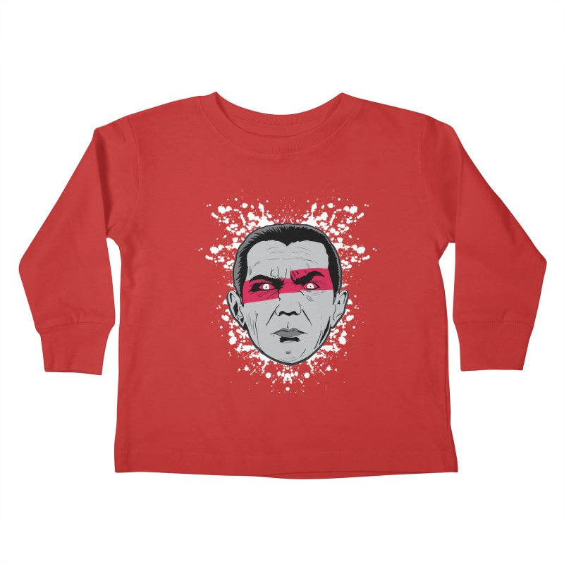 Bela is Red Variant Kids Toddler Longsleeve T-Shirt by Cold Lantern Collection