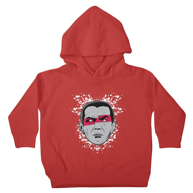 Bela is Red Variant Kids Toddler Pullover Hoody by Cold Lantern Collection