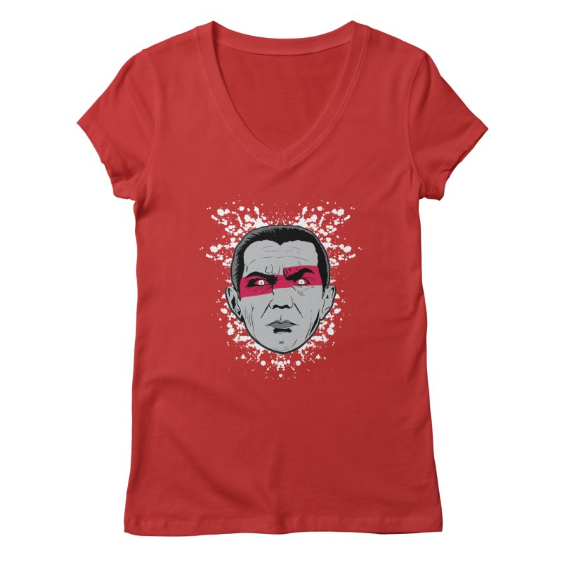 Bela is Red Variant Women's V-Neck by Cold Lantern Collection