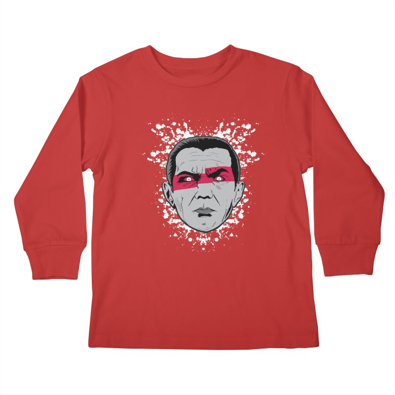 Bela is Red Variant Kids Longsleeve T-Shirt by Cold Lantern Collection