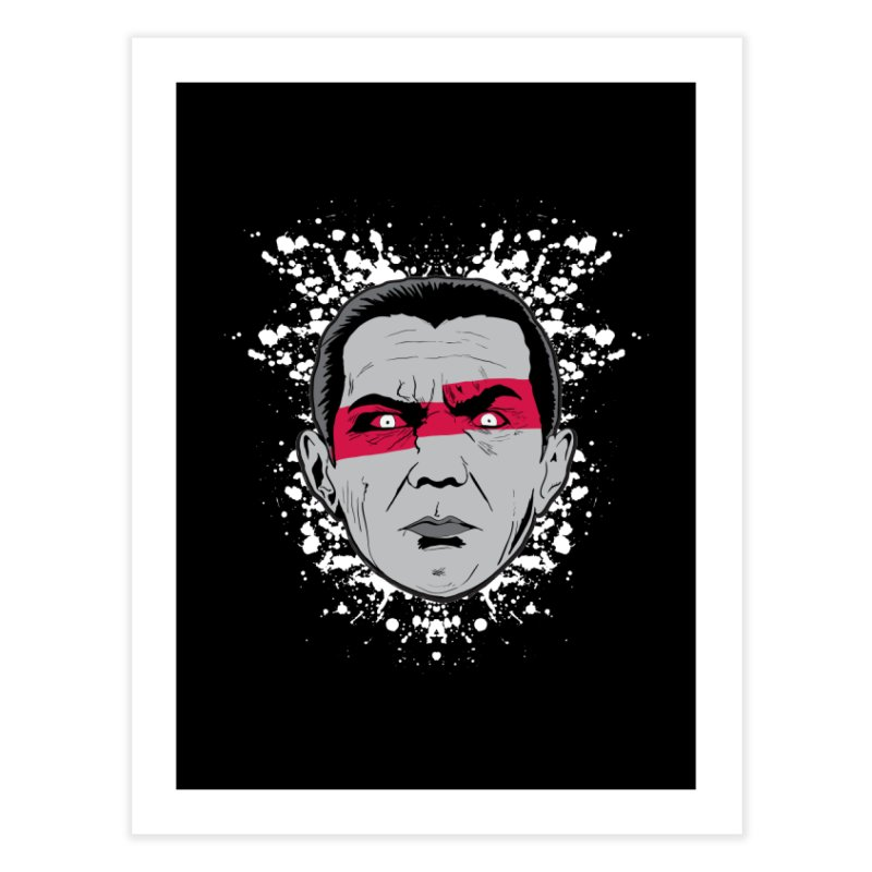 Bela is Red Variant Home Fine Art Print by Cold Lantern Collection