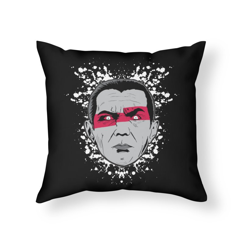 Bela is Red Variant Home Throw Pillow by Cold Lantern Collection