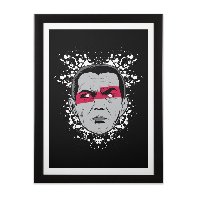 Bela is Red Variant Home Framed Fine Art Print by Cold Lantern Collection
