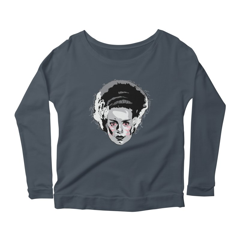 Made Like New Women's Longsleeve Scoopneck  by Cold Lantern Collection