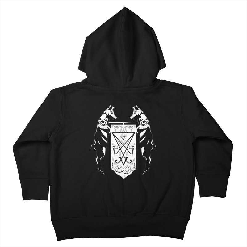 We Will Destroy You Kids Toddler Zip-Up Hoody by Cold Lantern Collection