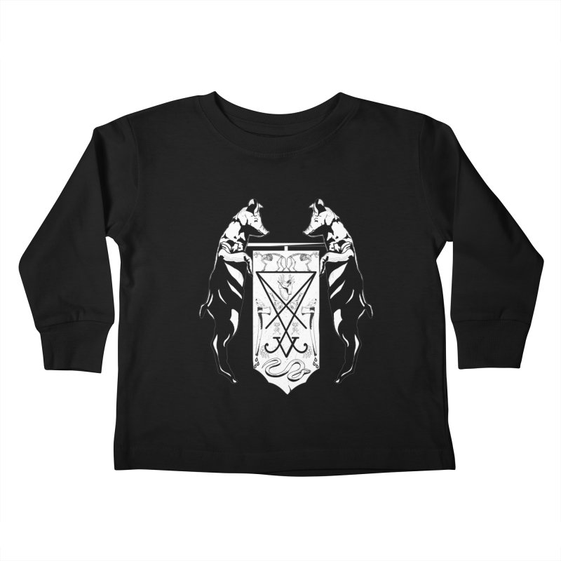 We Will Destroy You Kids Toddler Longsleeve T-Shirt by Cold Lantern Collection