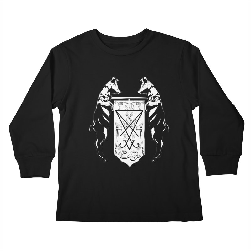 We Will Destroy You Kids Longsleeve T-Shirt by Cold Lantern Collection