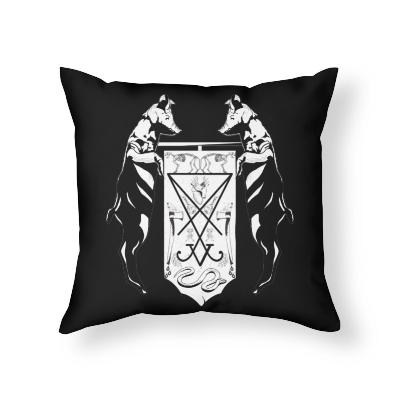 We Will Destroy You Home Throw Pillow by Cold Lantern Collection