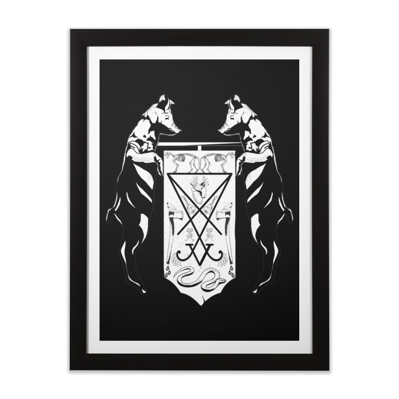 We Will Destroy You Home Framed Fine Art Print by Cold Lantern Collection