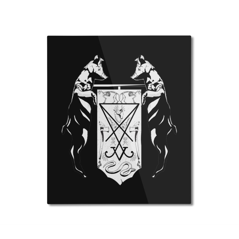 We Will Destroy You Home Mounted Aluminum Print by Cold Lantern Collection