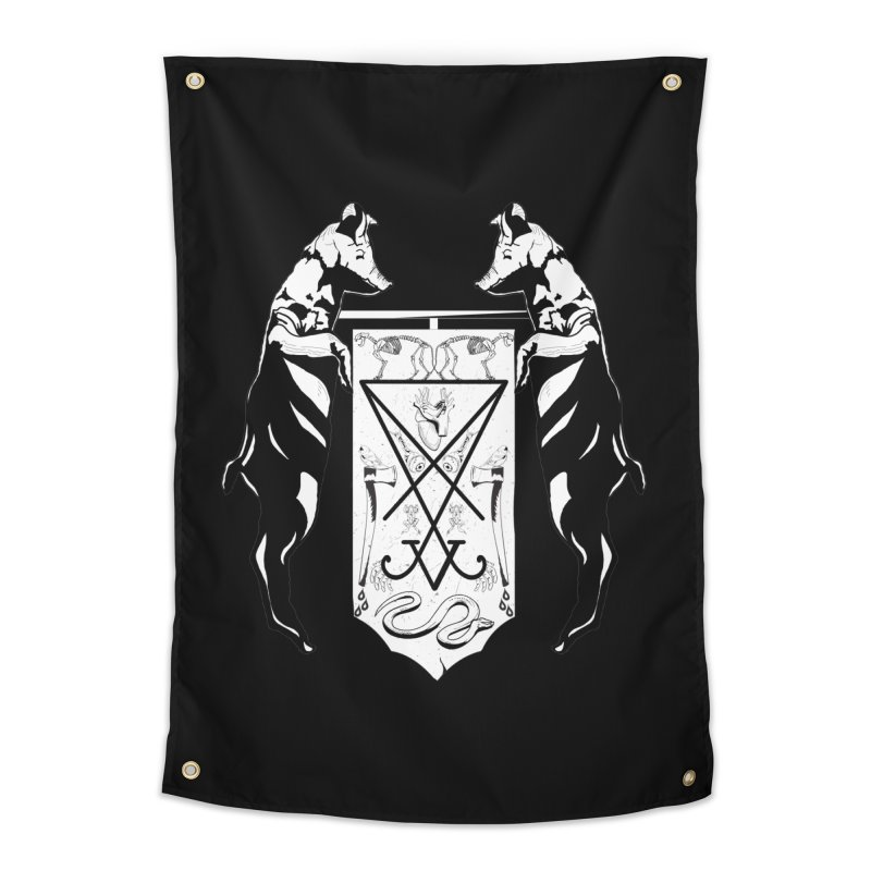 We Will Destroy You Home Tapestry by Cold Lantern Collection