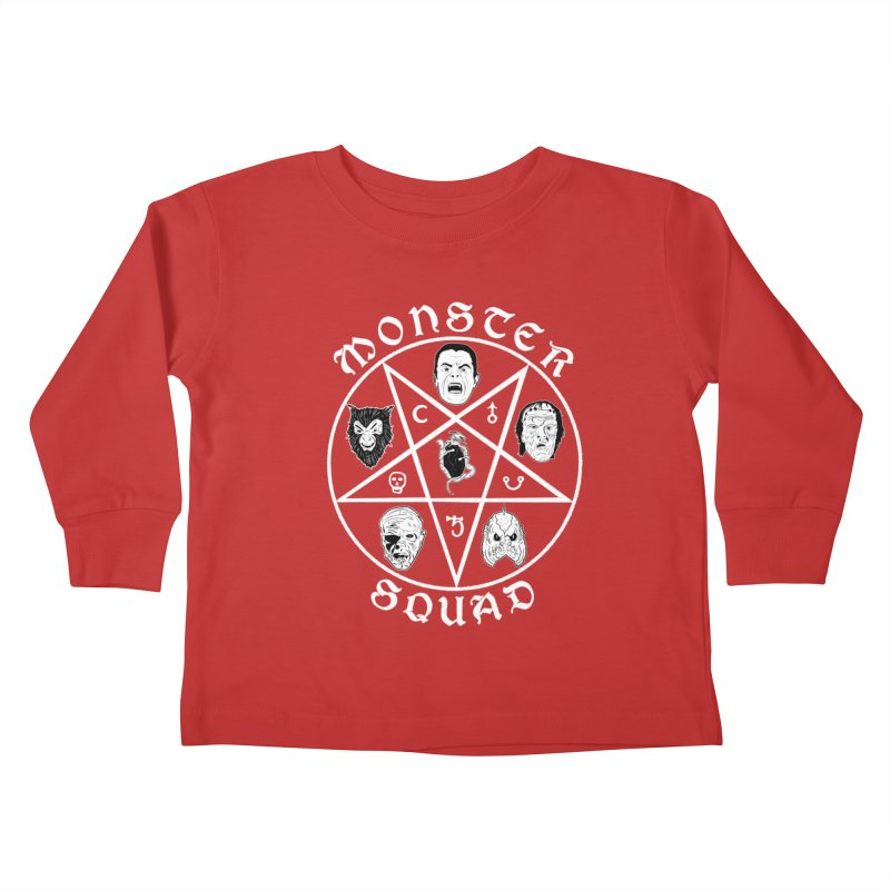 Gang of Five Kids Toddler Longsleeve T-Shirt by Cold Lantern Collection