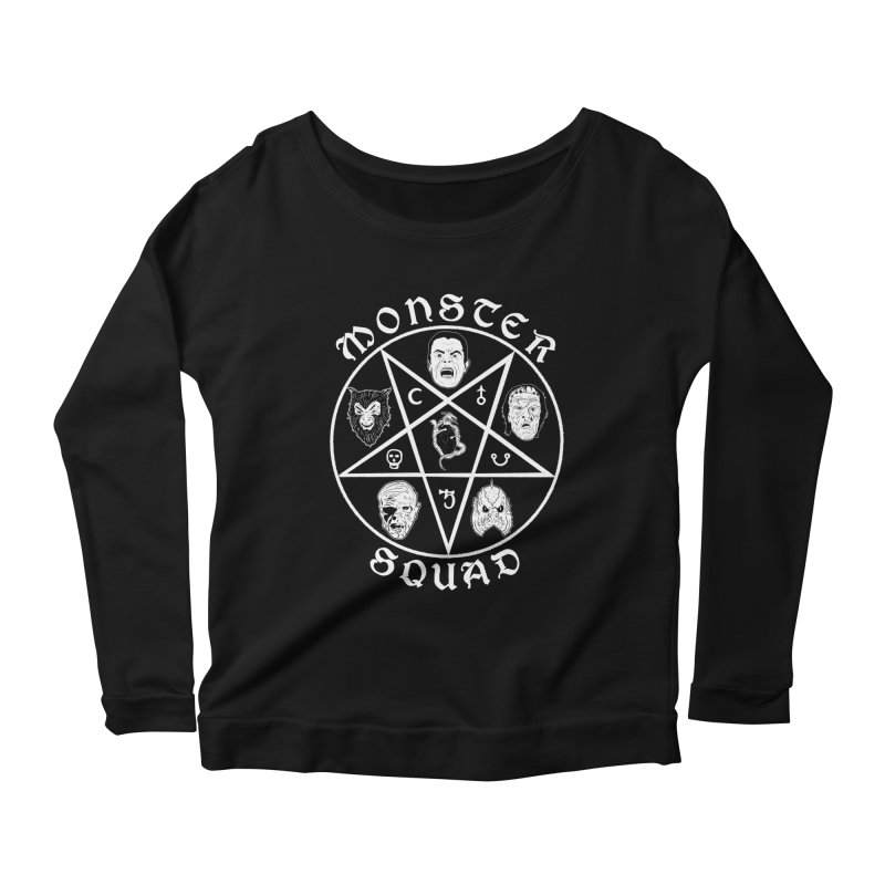 Gang of Five Women's Longsleeve Scoopneck  by Cold Lantern Collection