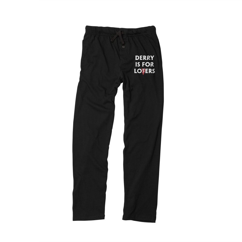 Derry Is for Losers Men's Lounge Pants by Cold Lantern Collection