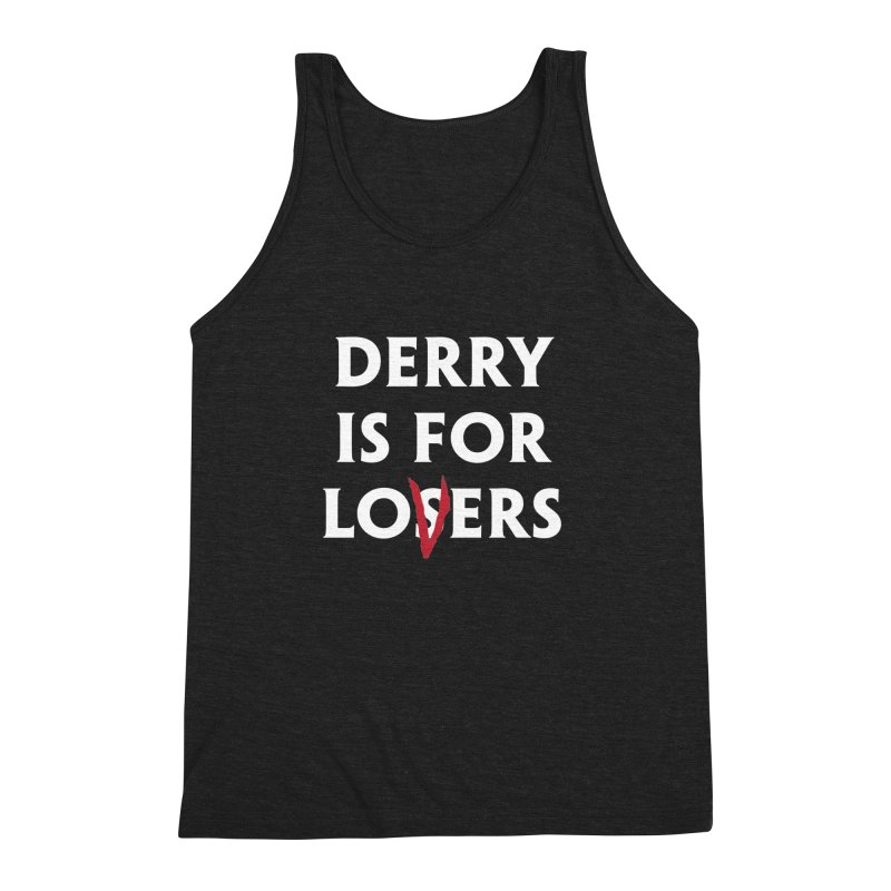 Derry Is for Losers Men's Triblend Tank by Cold Lantern Collection