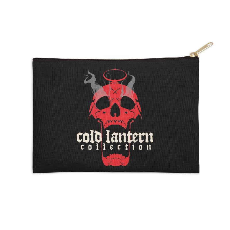 """CLC """"Find What You Seek"""" Logo Accessories Zip Pouch by Cold Lantern Collection"""