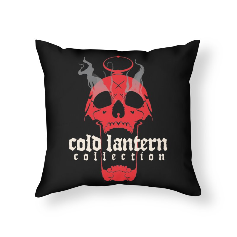 """CLC """"Find What You Seek"""" Logo Home Throw Pillow by Cold Lantern Collection"""