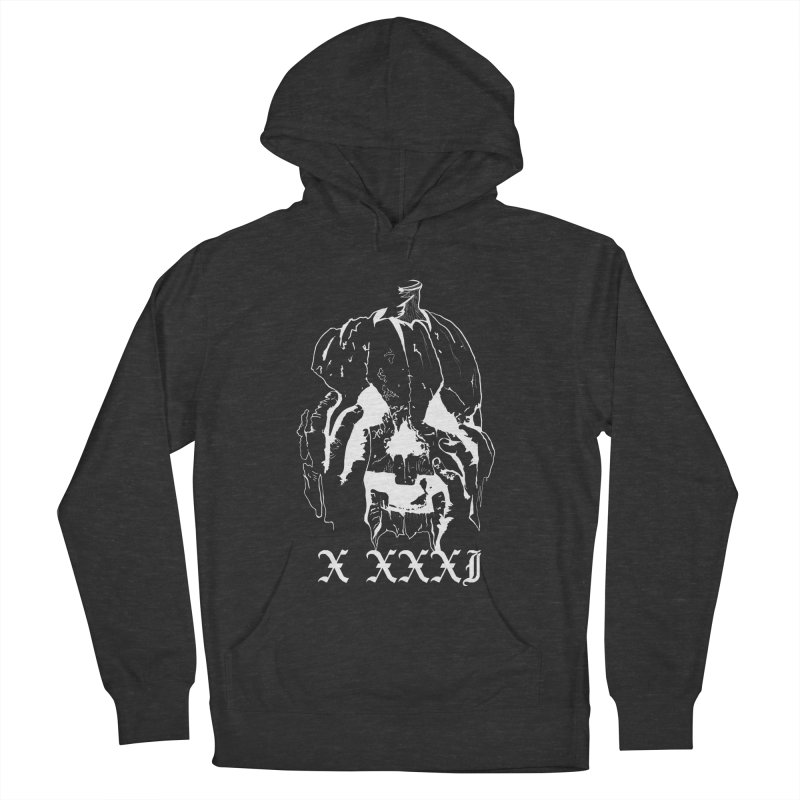 X XXXI Men's French Terry Pullover Hoody by Cold Lantern Collection