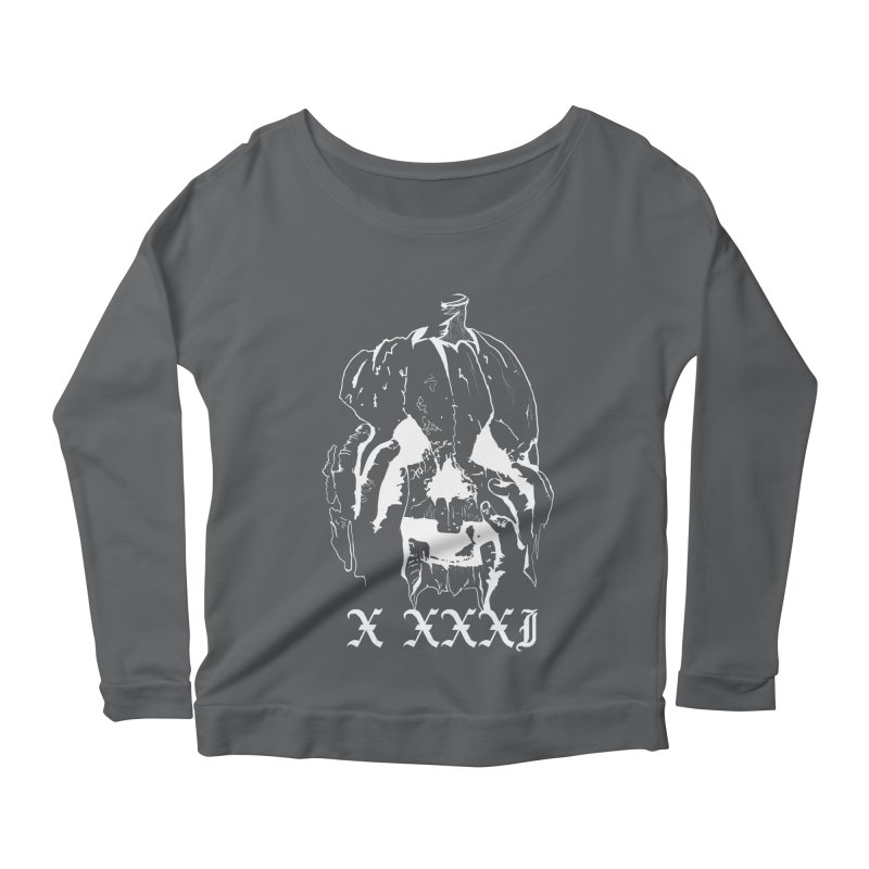 X XXXI Women's Longsleeve Scoopneck  by Cold Lantern Collection
