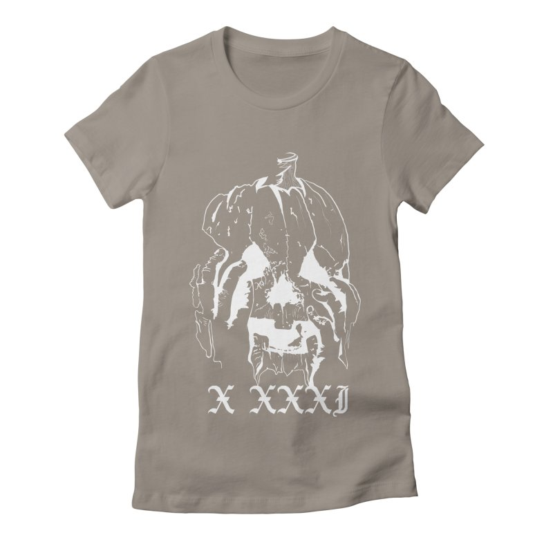 X XXXI Women's Fitted T-Shirt by Cold Lantern Collection