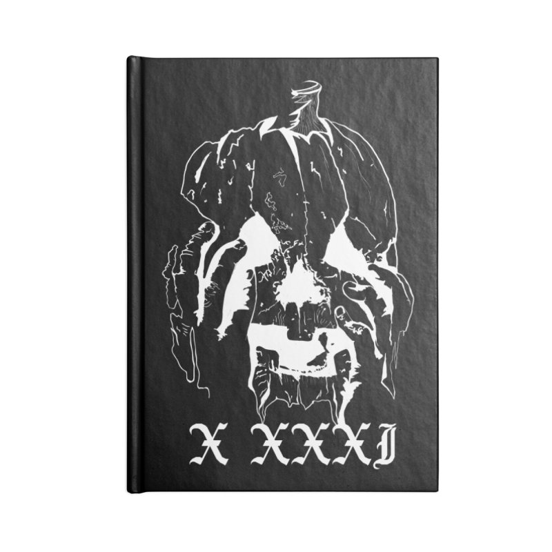 X XXXI Accessories Notebook by Cold Lantern Collection