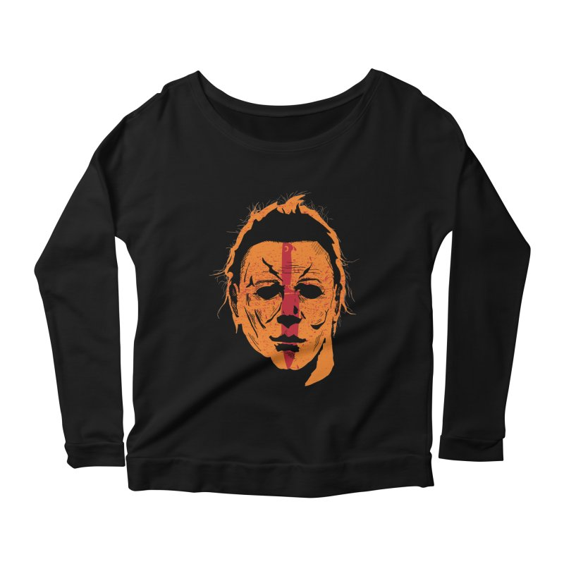 The Shape II Women's Longsleeve Scoopneck  by Cold Lantern Collection