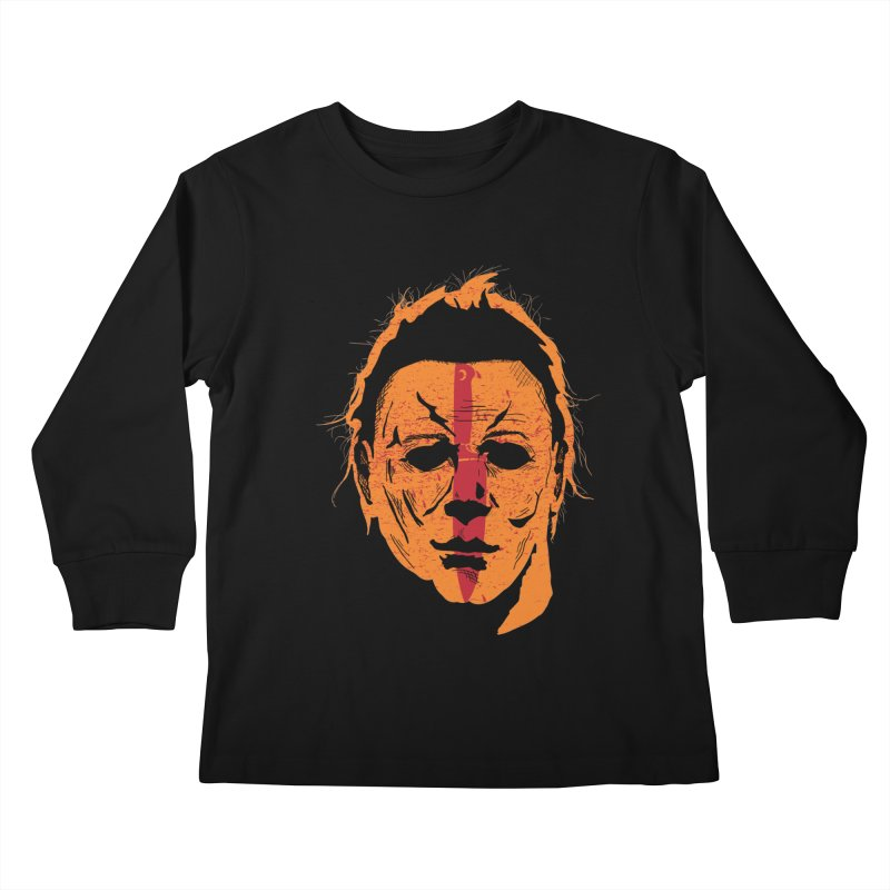 The Shape II Kids Longsleeve T-Shirt by Cold Lantern Collection
