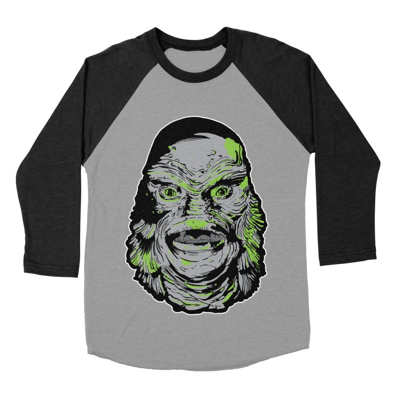 Creature Women's Baseball Triblend T-Shirt by Cold Lantern Collection