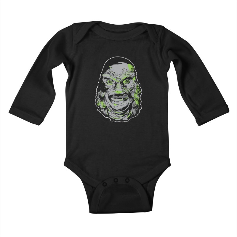 Creature Kids Baby Longsleeve Bodysuit by Cold Lantern Collection