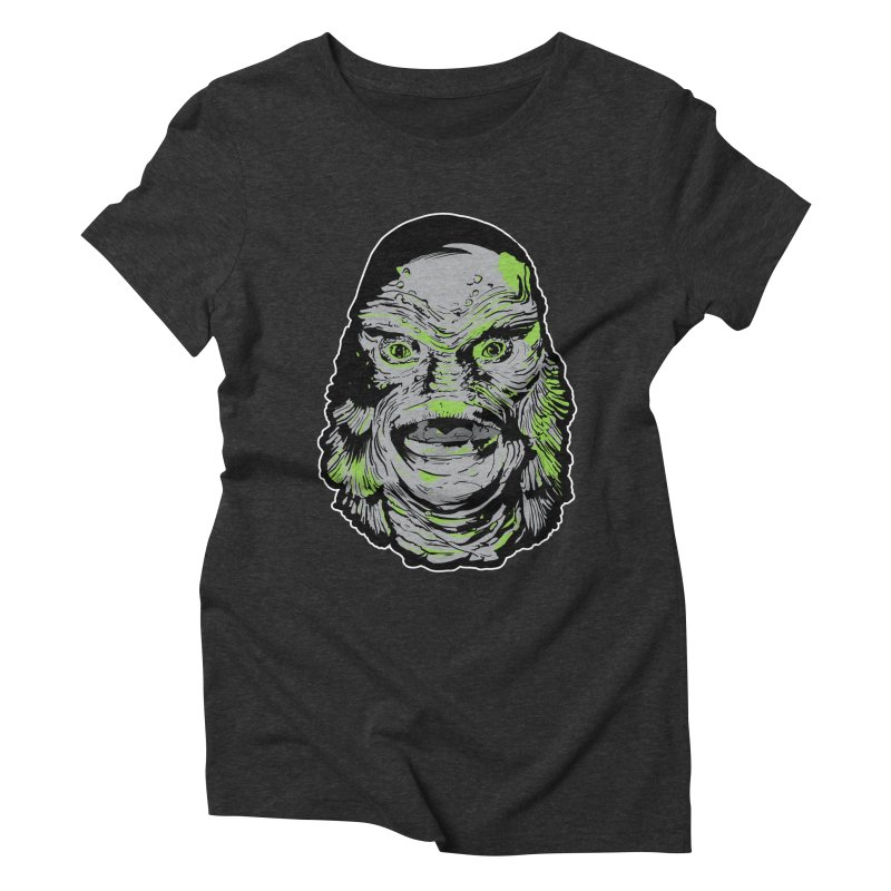 Creature Women's Triblend T-Shirt by Cold Lantern Collection