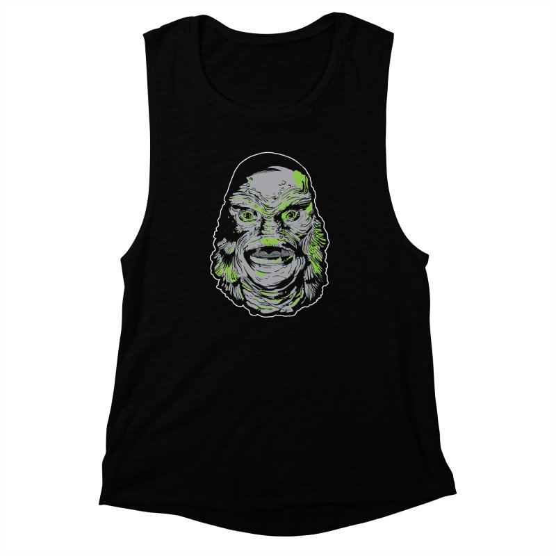 Creature Women's Muscle Tank by Cold Lantern Collection