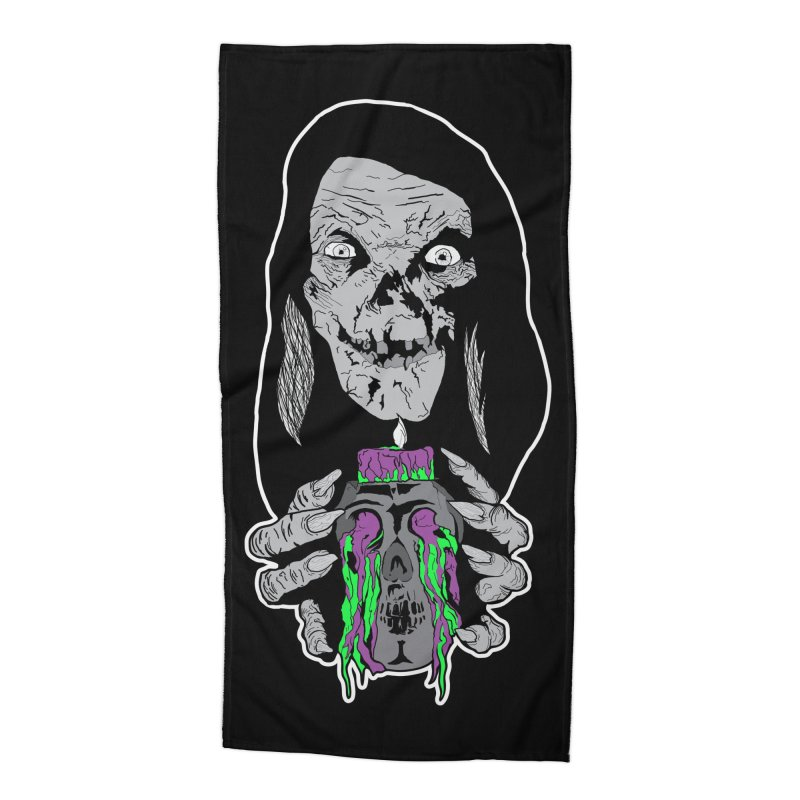 Keeper of Crypts Accessories Beach Towel by Cold Lantern Collection