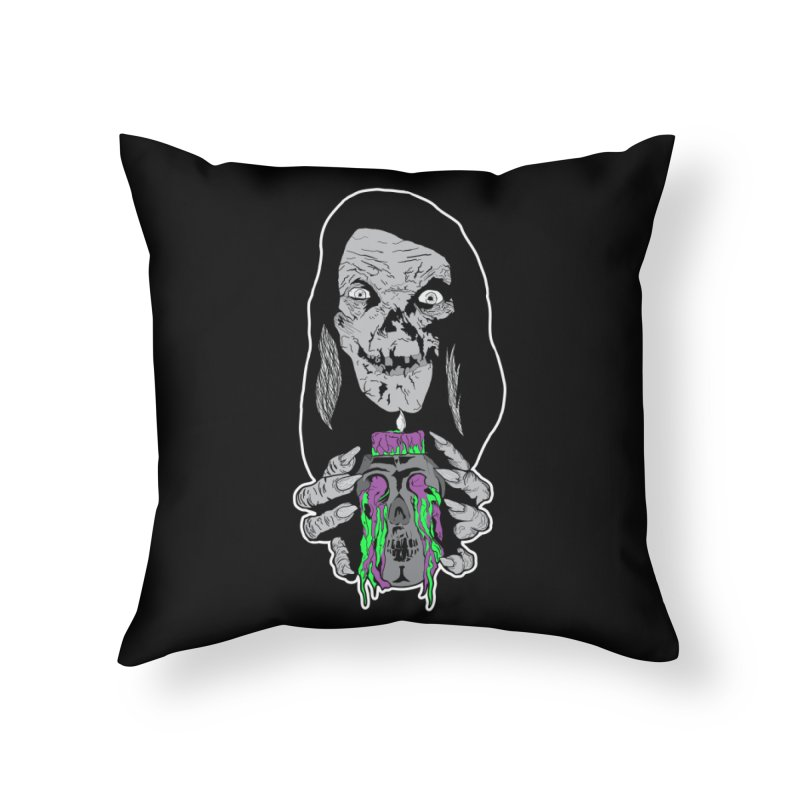 Keeper of Crypts Home Throw Pillow by Cold Lantern Collection