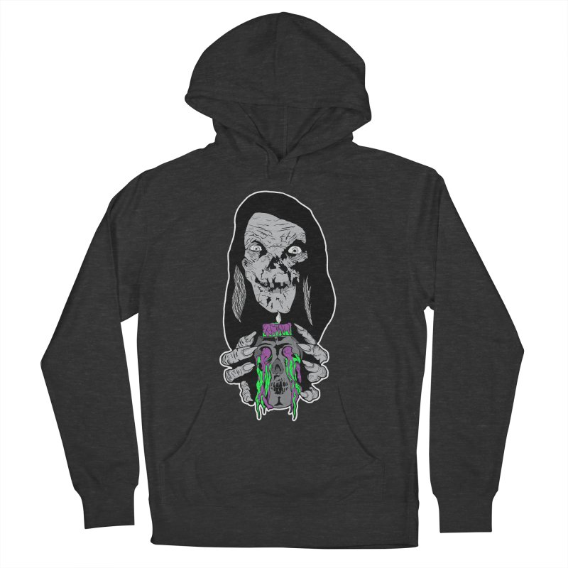 Keeper of Crypts Women's French Terry Pullover Hoody by Cold Lantern Collection