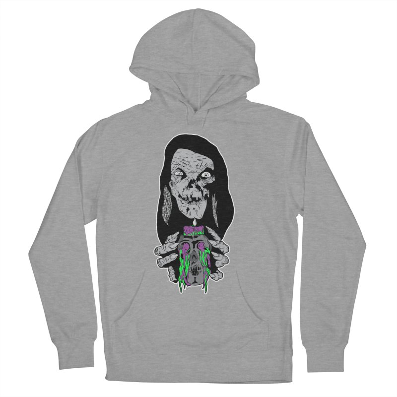 Keeper of Crypts Men's French Terry Pullover Hoody by Cold Lantern Collection