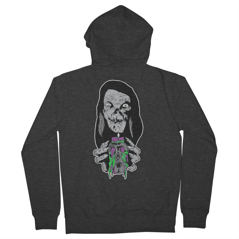 Keeper of Crypts Women's French Terry Zip-Up Hoody by Cold Lantern Collection