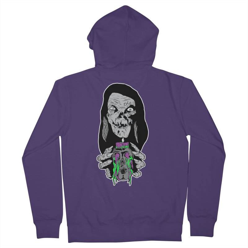 Keeper of Crypts Women's Zip-Up Hoody by Cold Lantern Collection