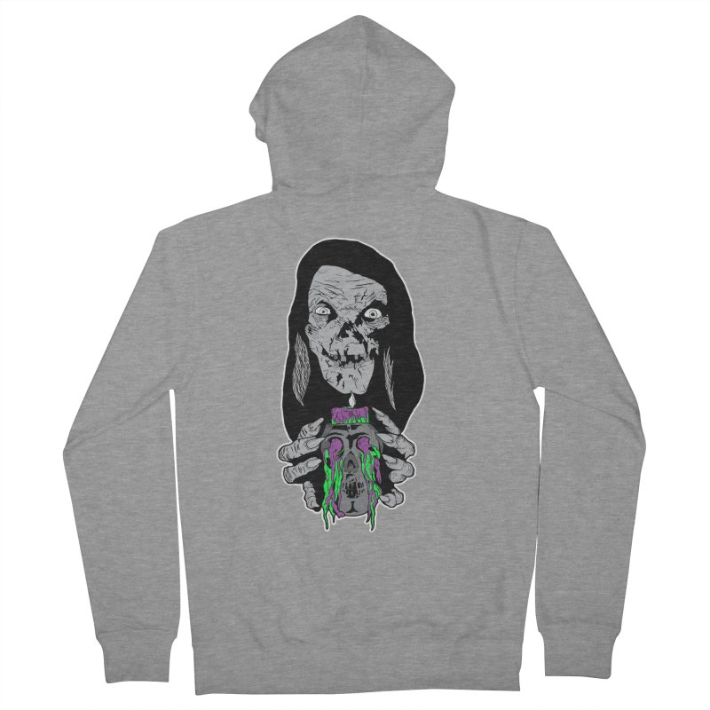 Keeper of Crypts Men's French Terry Zip-Up Hoody by Cold Lantern Collection