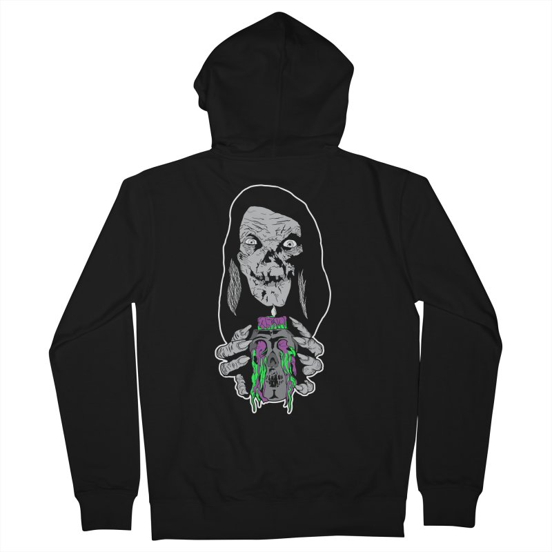 Keeper of Crypts Men's Zip-Up Hoody by Cold Lantern Collection