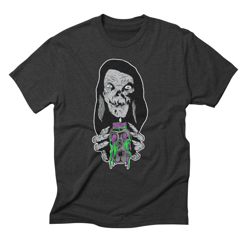 Keeper of Crypts Men's Triblend T-Shirt by Cold Lantern Collection