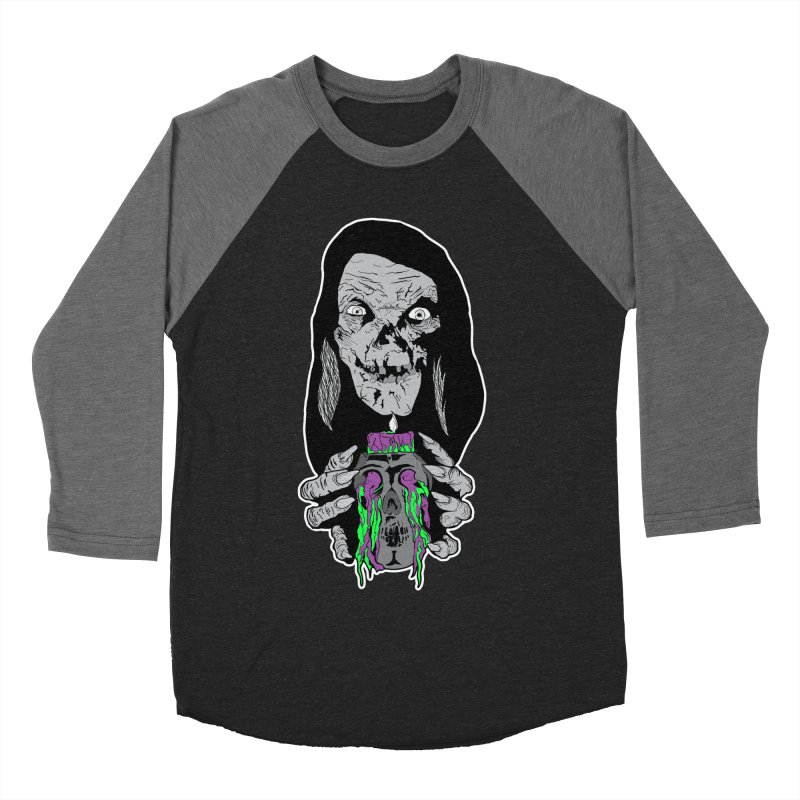 Keeper of Crypts Women's Baseball Triblend T-Shirt by Cold Lantern Collection