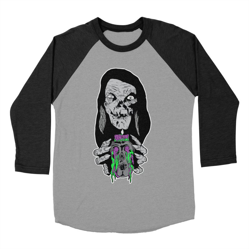Keeper of Crypts Women's Baseball Triblend Longsleeve T-Shirt by Cold Lantern Collection