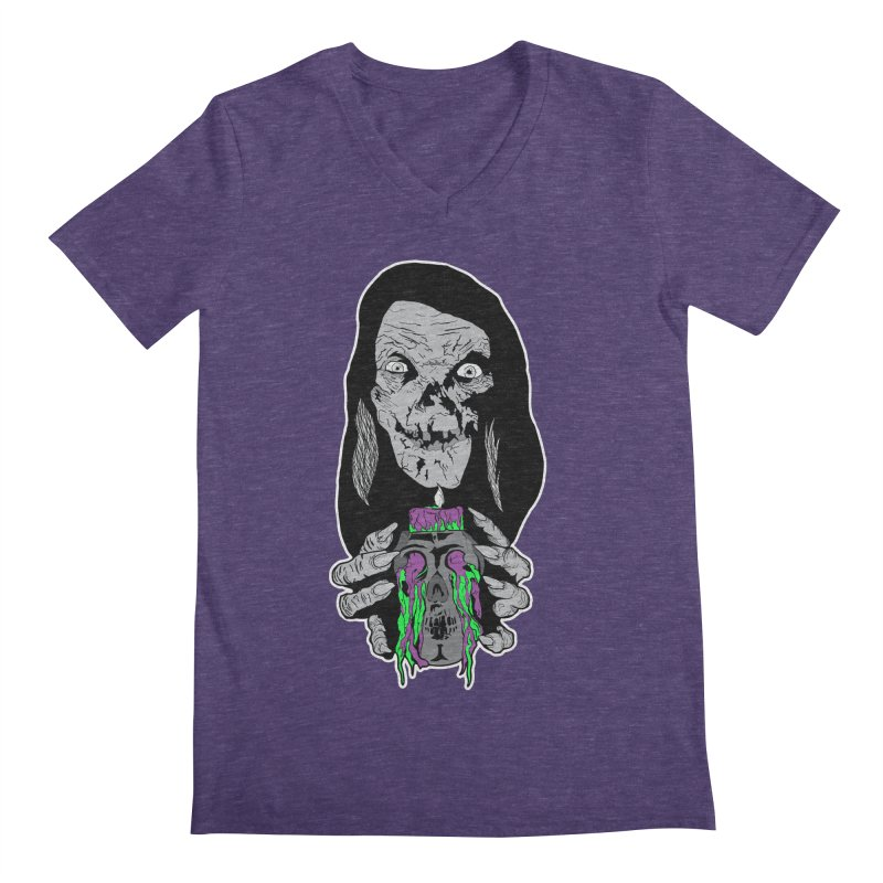 Keeper of Crypts Men's V-Neck by Cold Lantern Collection