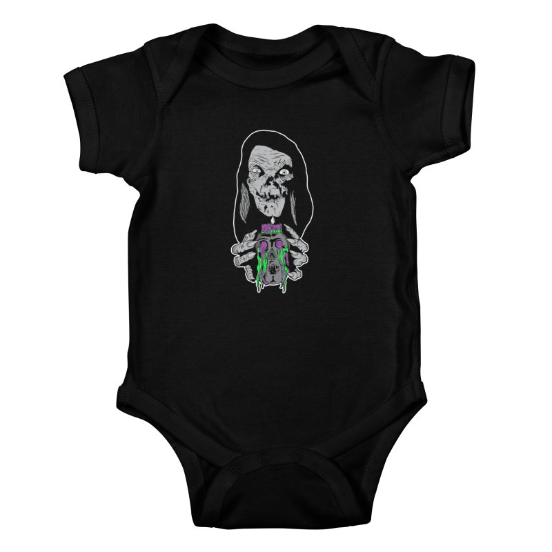 Keeper of Crypts Kids Baby Bodysuit by Cold Lantern Collection
