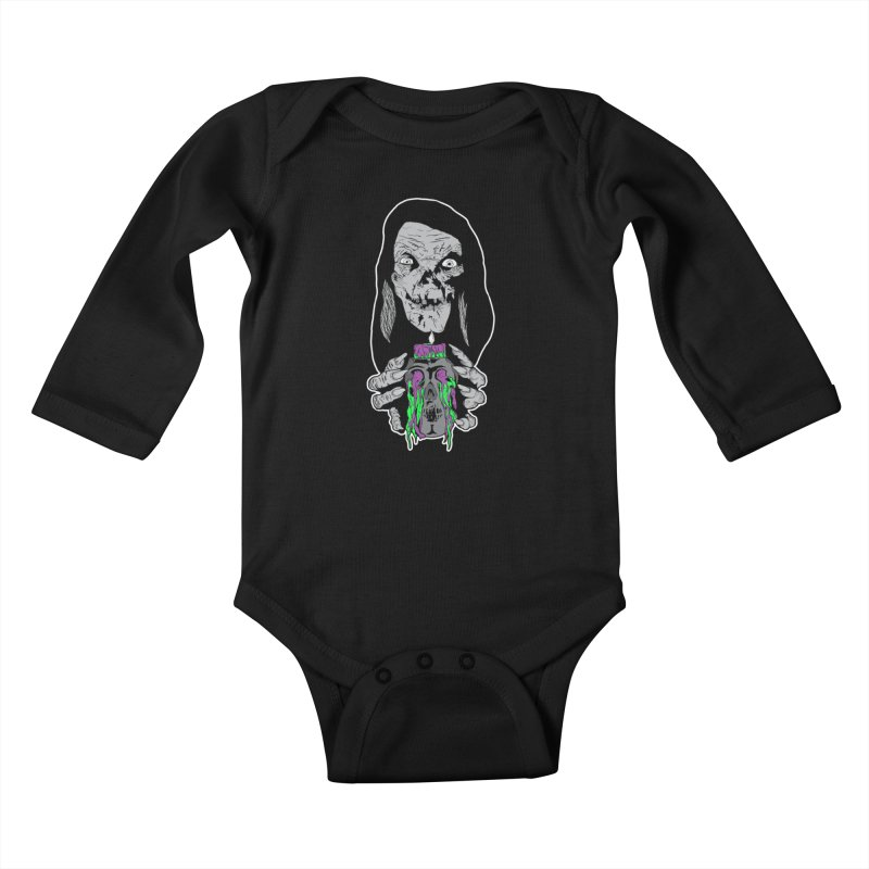 Keeper of Crypts Kids Baby Longsleeve Bodysuit by Cold Lantern Collection