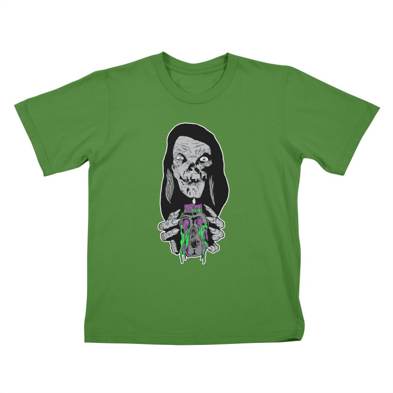 Keeper of Crypts Kids T-Shirt by Cold Lantern Collection