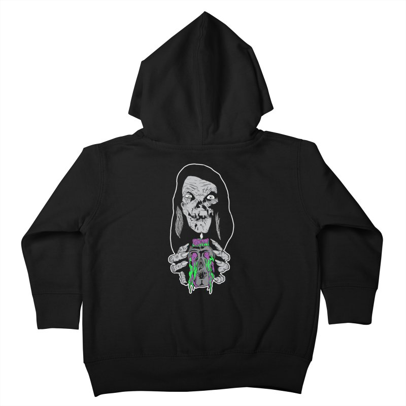 Keeper of Crypts Kids Toddler Zip-Up Hoody by Cold Lantern Collection